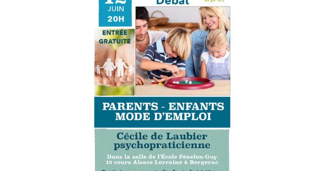 Conférence Parents mode d'emploi