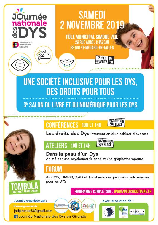 Les DYS en Gironde