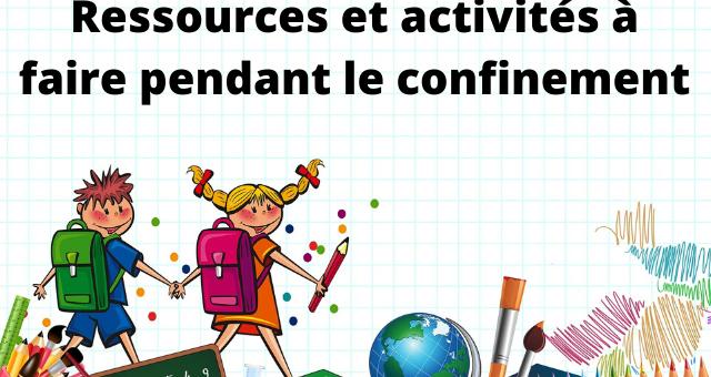 Ressources et activités à faire